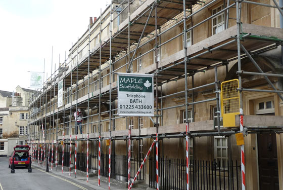 Scaffolding picture