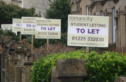 To-Let boards